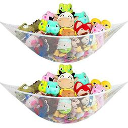 New 2Pack Jumbo Hammock Toy Net Organizer Stuffed Animals Ki