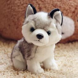 "New 6"" Plush Dolls Soft Toy Stuffed Animal Lovely Husky Dog"