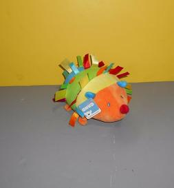 "New 7"" Baby Gund Silly Sounds Light-Up Nose Color Fun Hedgeh"