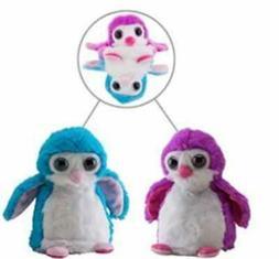 "New 8"" Switch A Rooz Penguin Reversible Plush Stuffed Animal"