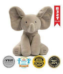 NEW! GUND Baby Animated Flappy The Elephant Plush Toy  - FRE