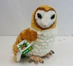 "New Wild Republic Barn Owl 12"" Plush Cuddlekins Stuffed Anim"