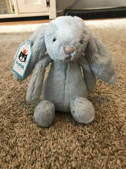 NEW Jellycat Bashful Beau Bunny Plush Stuffed Animal, 6 inch