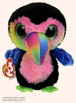 New TY Beanie Boos Cute BEAKS the colorful Toucan Plush Toys