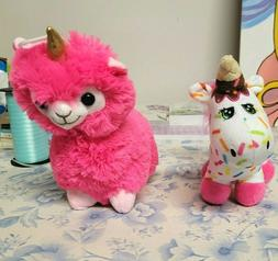 NWT Llama Unicorn Plush  - Llamacorn Stuffed Animal 8""