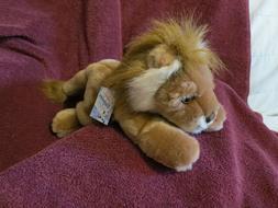 New - Aurora Flopsies Collection Plush LION Stuffed Animal 1