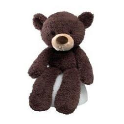 "NEW GUND Fuzzy Chocolate 13.5"" Bear Plush 320115"