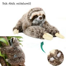 Giant Sloth Stuffed Plush Doll Cute Wild Animal Soft Toys Pi