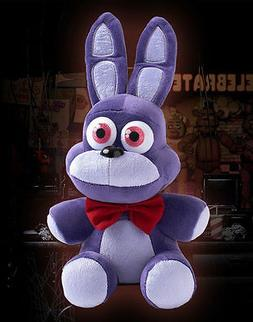 "NEW HOT FNAF Five 5 Nights at Freddy's BONNIE 10"" Plush Doll"