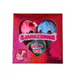 New! Li'l Sweetheart 3 Squeezamals Micro Stuffed Animals by