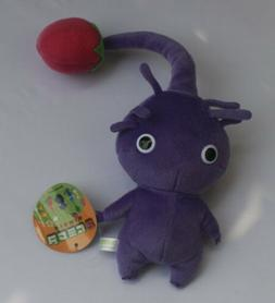 "NEW PIKMIN 8"" purple Bud STUFFED PLUSH DOLL Stuffed Animal s"
