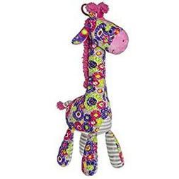 NEW Mary Meyer Print Pizzazz Kaleidoscope Giraffe Plush Toy
