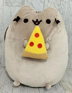 "New GUND Pusheen 10"" Stuffed Plush 4058937 Pizza Snack Slice"