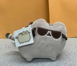 NEW GUND Pusheen Sunglasses Backpack Clip Stuffed Animal FRE