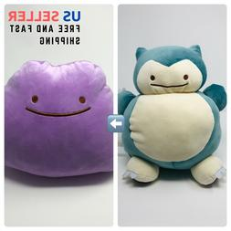 New Snorlax Plush Toy Inside-Out Soft Doll Stuffed Animal Pl