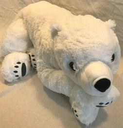 ❤️New IKEA SNUTTIG Soft Stuffed  Large WHITE POLAR BEAR