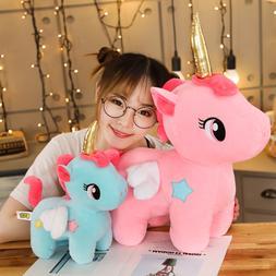 New Soft Cute Unicorn Plush <font><b>Toy</b></font> <font><b