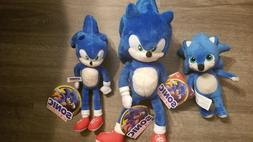 NEW Sonic Movie 2020 Plush, 8 to 15in !!! Toy factory, Stuff