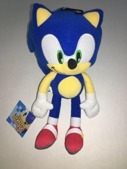"NEW! Sonic the Hedgehog 12"" Blue Plush Stuffed Animal 2019 S"
