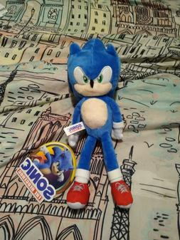 NEW Sonic the Hedgehog Movie 2020 Plush, 10 - 12 inch Toy Fa