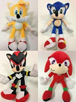 "New Sonic The Hedgehog Plush Doll 11"" Stuffed Animals"