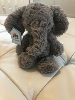 New Jellycat Squiggles Elephant - grey.  Oh SO SOFT!!!  9 In