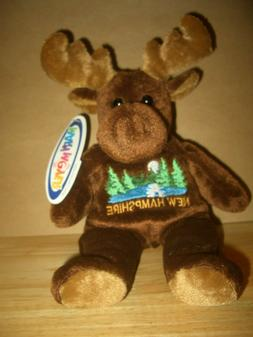 """New Mary Meyer Stuffed New Hampshire Moose Toy-9"""" with tags"""