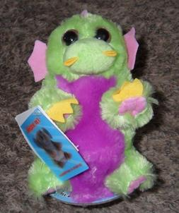 *NEW* SWITCH-A-ROOZ 2-N-1 PLUSH Huff and Puff Green / Purple