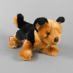 "New DOUGLAS TOY Plush Saba German Shepherd Tan and Black 12"""