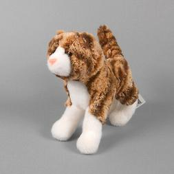 New DOUGLAS TOY Plush Sadie Tiger Cat Striped Rust and Orang