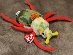 "NEW w/TAG Ty Beanie Baby Scurry Bug Beetle 7"" Plush Stuffed"