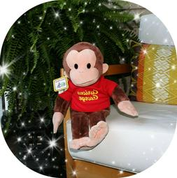 New w/ tag Curious George Monkey Large Classic Plush Stuffed