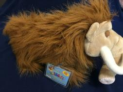 "New Ganz Webkinz Wooly Mammoth 12"" Long Stuffed Animal Plush"