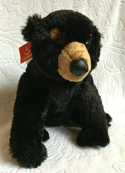 NEW WITH TAG Black Bear Aurora Soft Plush Toy Stuffed Animal