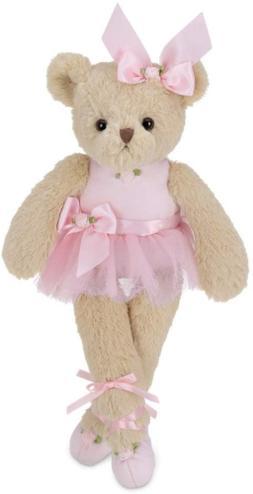 Bearington Nina Plush Stuffed Animal Ballerina Teddy Bear in