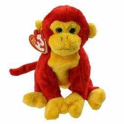 NMT* Ty Beanie Baby ~ CHOPSTIX the Monkey ~ MINT with NEAR M