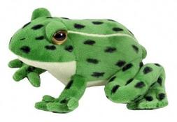 Wild Republic Northern Leopard Frog Watch Childrens Plush Cu