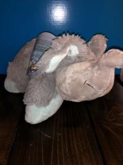 "Pillow Pets Nutty Elephant, 11"" Stuffed Animal Plush Toy nwt"