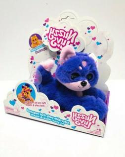 """Nuzzy luvs """"Pookie The Purple Husky"""" New in box Hard to Find"""