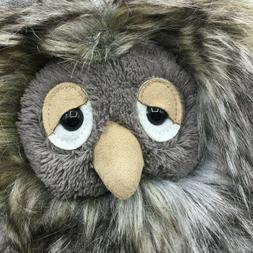 "NWT-10"" Jellycat London gray sleepy Orlando Owl plush fluf"