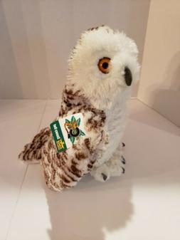 """NWT Wild Republic 12"""" Snowy Owl Stuffed Animal Plush Cuddlek"""