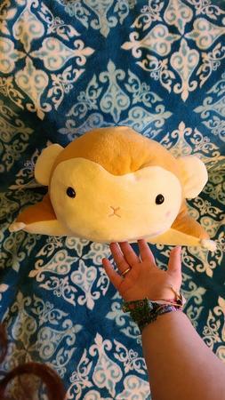 "NWT New 13"" Amuse Animals Saru Flying Monkey Plush Round 1 T"