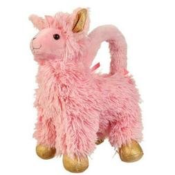 **NWT** Olly & Me Mini LLAMA PURSE Pink Girl Kid Zipper Plus