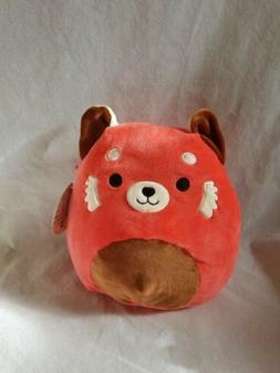 "NWT Squishmallows 8"" red panda plush stuff animal toy pillow"