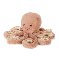 Jellycat Odell Octopus Stuffed Animal, Little, 12 inches