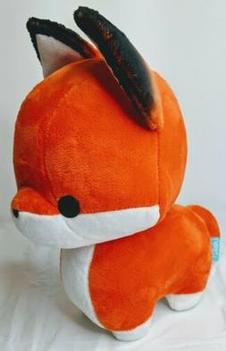 Bellzi Orange Fox Stuffed Animal Plush Toy - Adorable Toy Pl