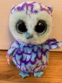 Oscar the Blue Owl 15cm Plush Regular Soft Big-eyed Stuffed