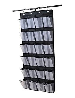 Over the Door Shoe & Accessory Organizer with 24 Oversized P