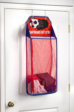 Store & Score Over The Door Hanging Kids Fun LED Soccer Ligh
