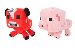 "Official Minecraft Overworld 7"" Plush Baby Mooshroom COW & B"